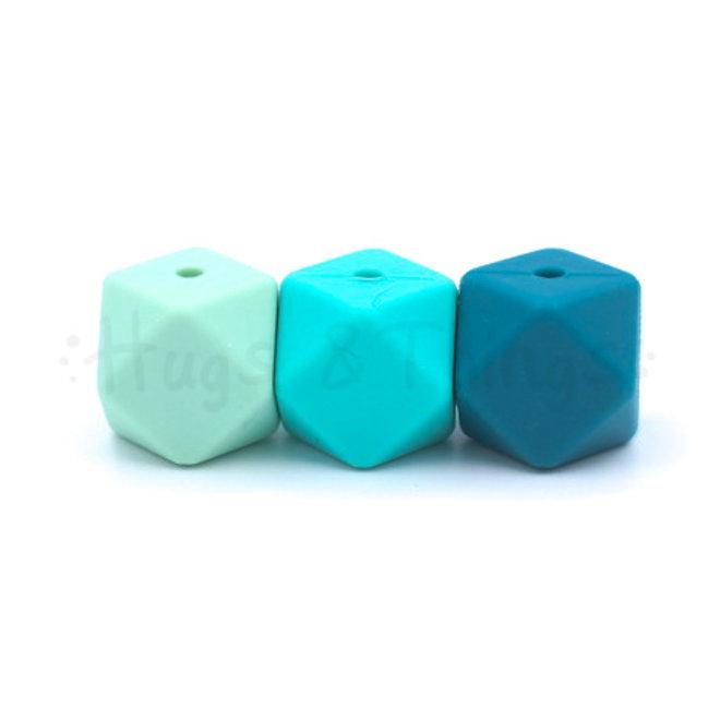 12 mm  - Mintgroen