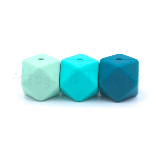 15 mm - Turquoise