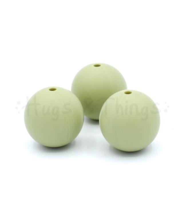 19 mm - Vergrijsd Groen