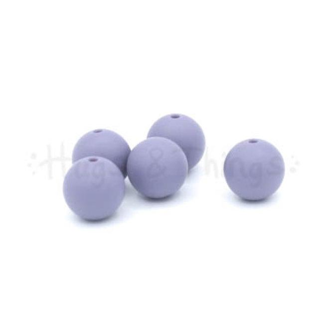 15 mm - Vergrijsd Paars