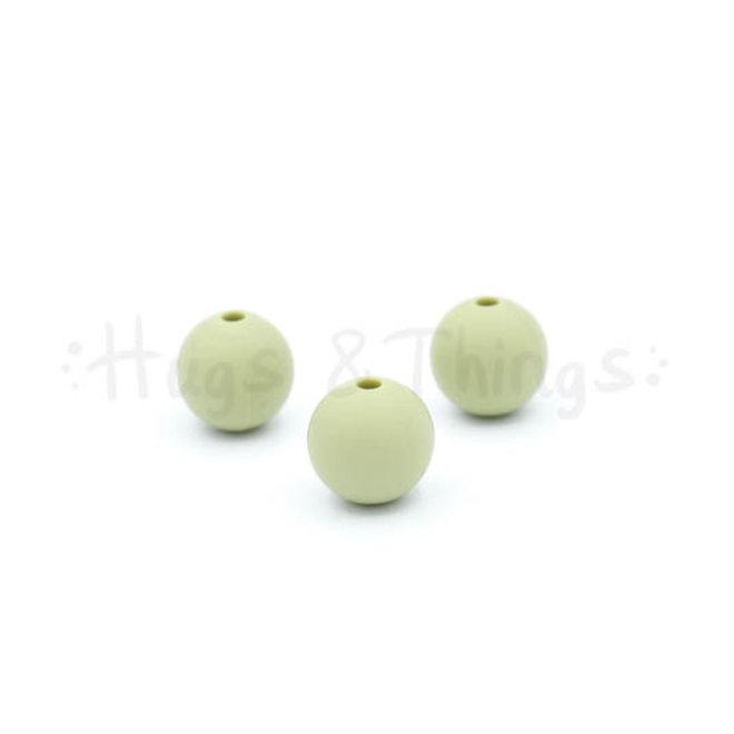 12 mm  - Vergrijsd Groen