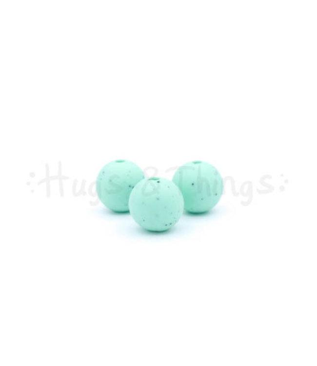 H&T 12 mm  - Mintgroen Spikkels