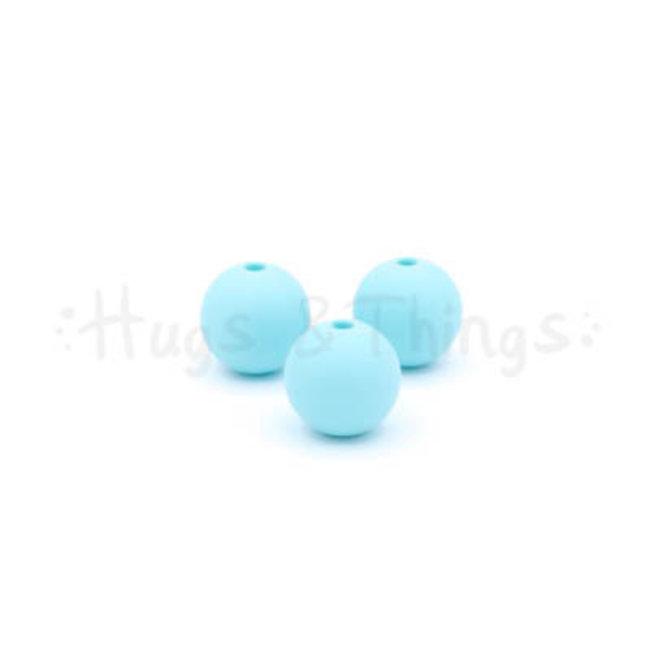 12 mm - Zachtturquoise