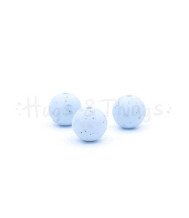 H&T 12 mm  - Poederblauw Spikkels