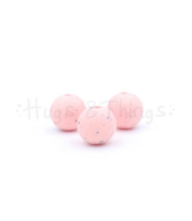 H&T 12 mm  - Lichtroze Spikkels