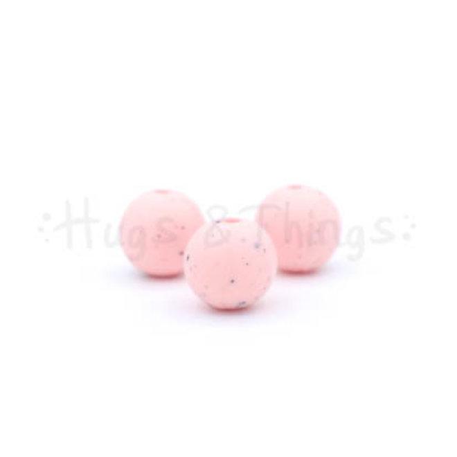 12 mm - Lichtroze Spikkels