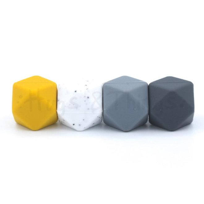 Hexagon - Antraciet