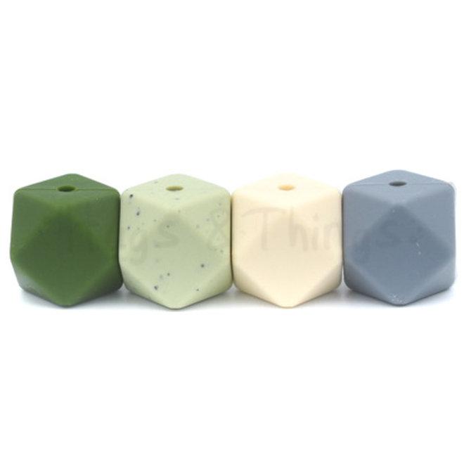9 mm - Vergrijsd Groen