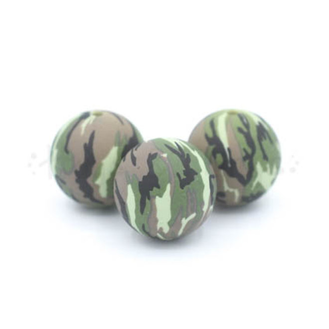 Kraal met camouflageprint - 19 mm