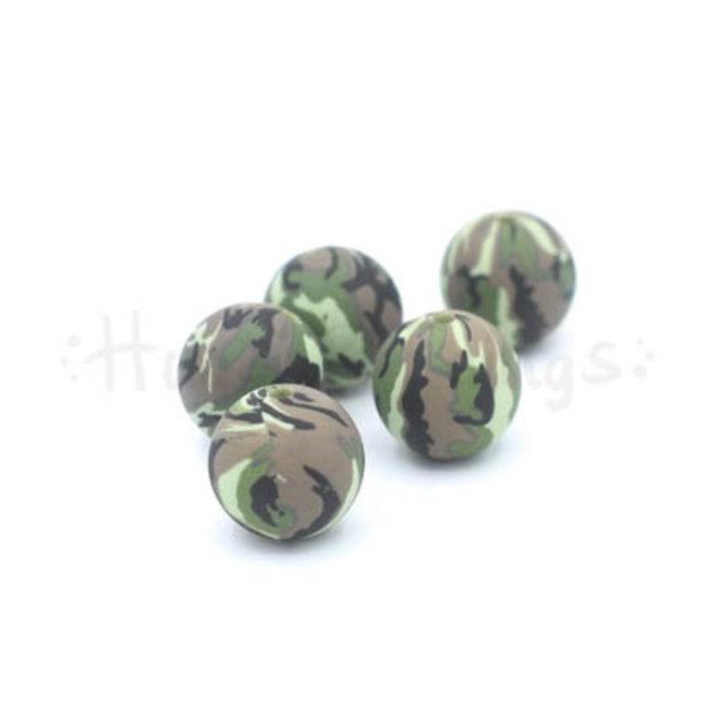 Kraal met camouflageprint - 15 mm