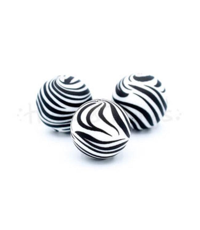H&T Kraal met Zebraprint - 19 mm