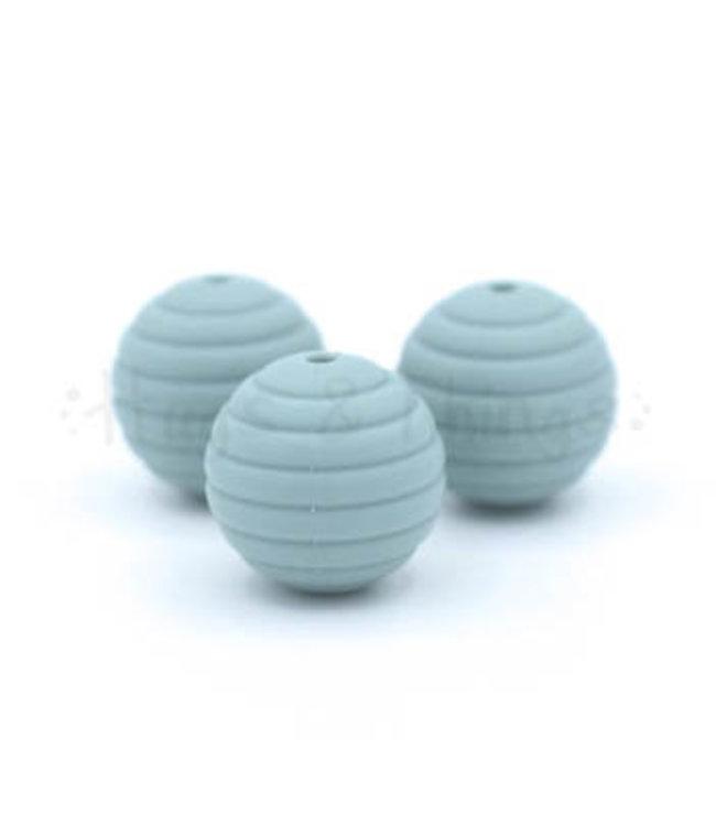 H&T Ribbelkraal 18mm - Grijsblauw