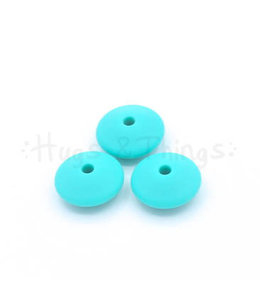 Groot Tussenschijfje - Turquoise
