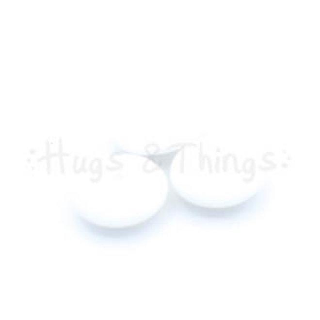 Groot Tussenschijfje - Wit
