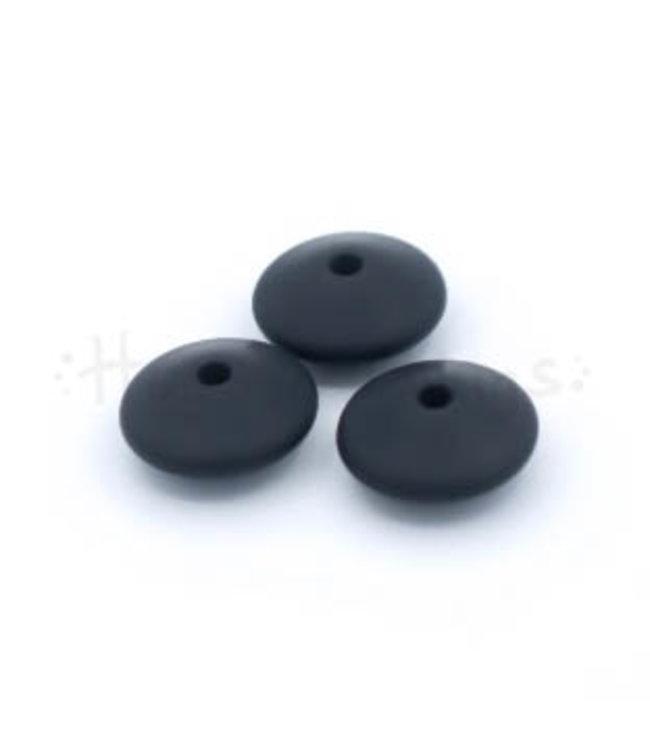 Groot Tussenschijfje - Zwart