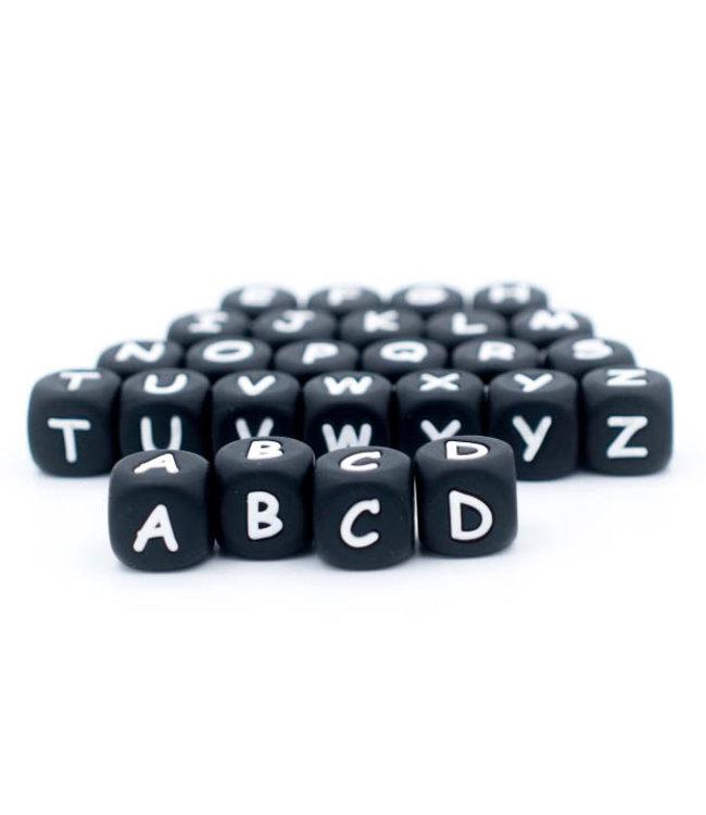 H&T Letterkralen - Alfabet - Zwart