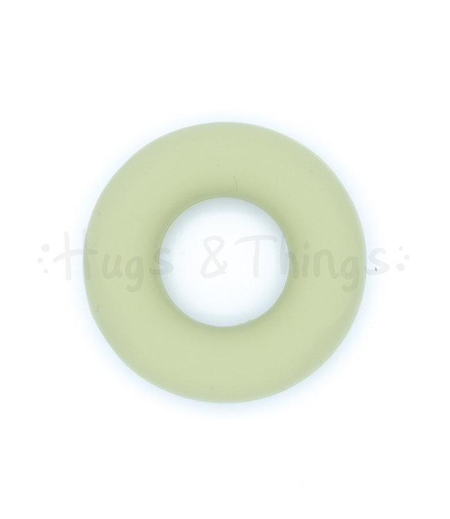 H&T Kleine Ring - Vergrijsd Groen
