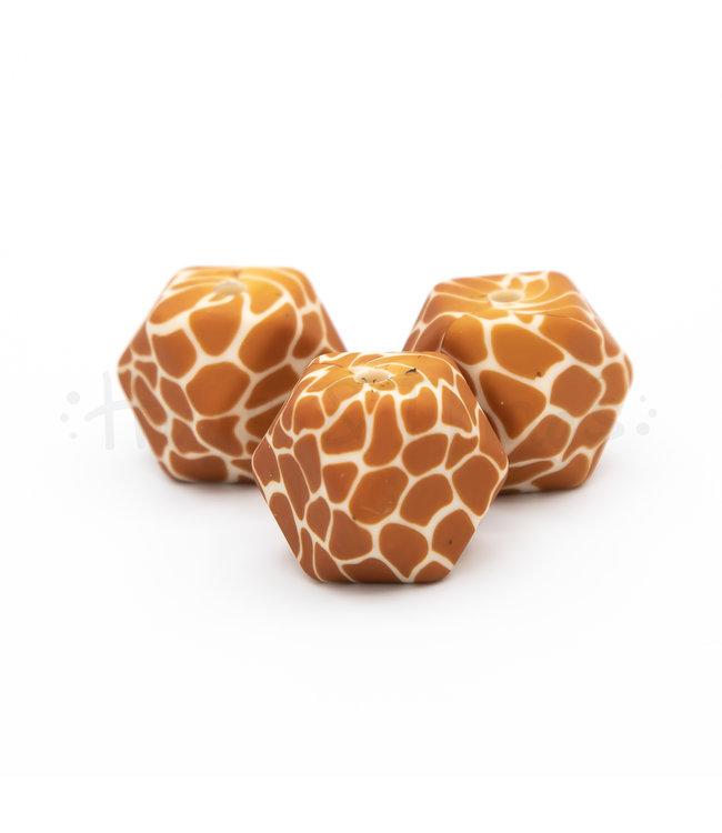 H&T Kraal met girafprint - Hexagon 17mm