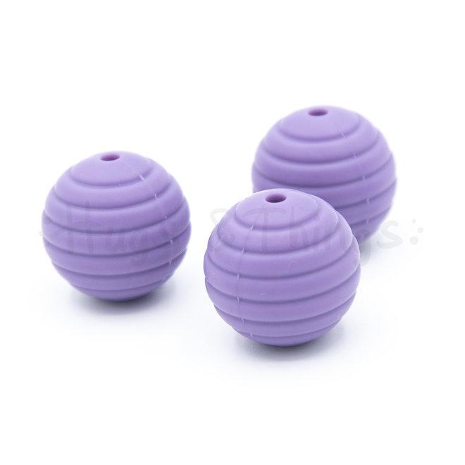 Ribbelkraal 18mm - Lavendel