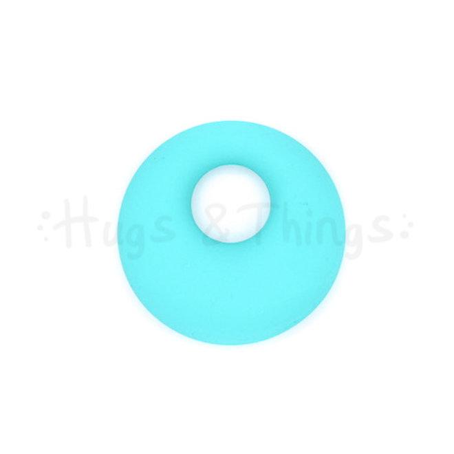 Ronde Bijthanger met koord - Turquoise