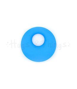 Ronde Bijthanger met koord - Blauw