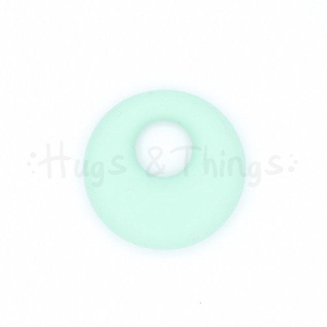 Ronde Bijthanger met koord - Mintgroen