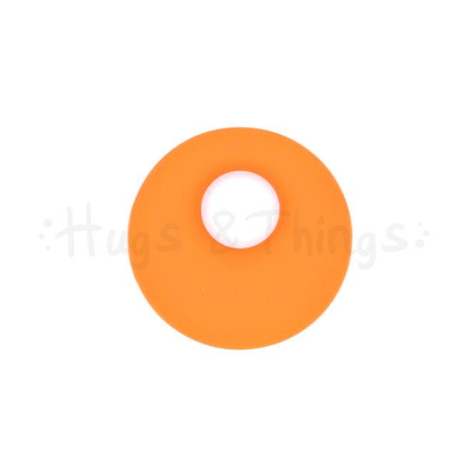 Ronde Bijthanger met koord - Oranje