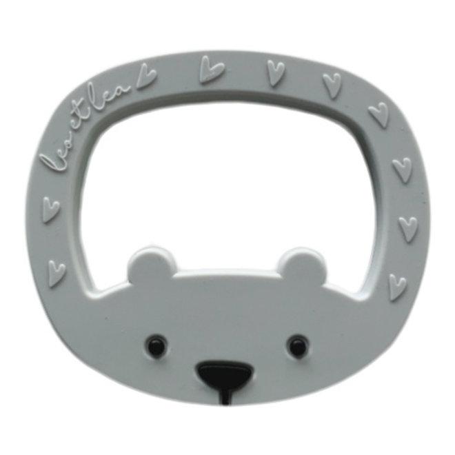 Bijtring - Bear Light Grey