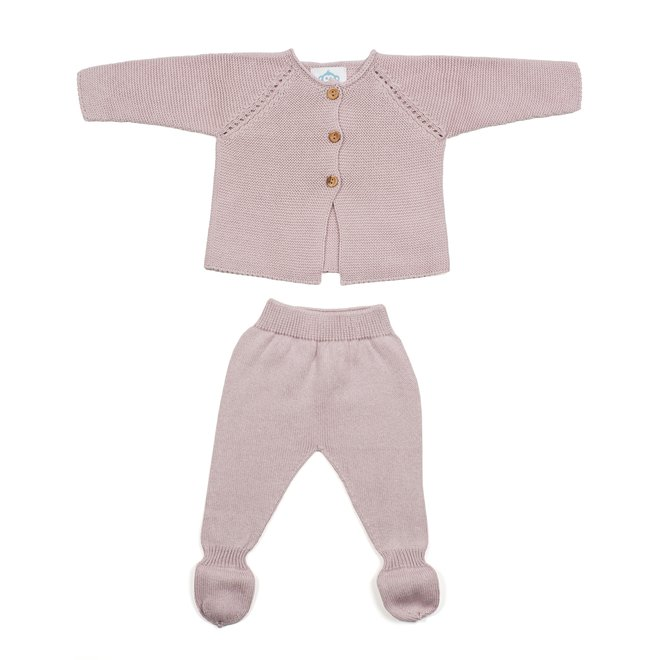 Newbornpakje - Roze/Lila