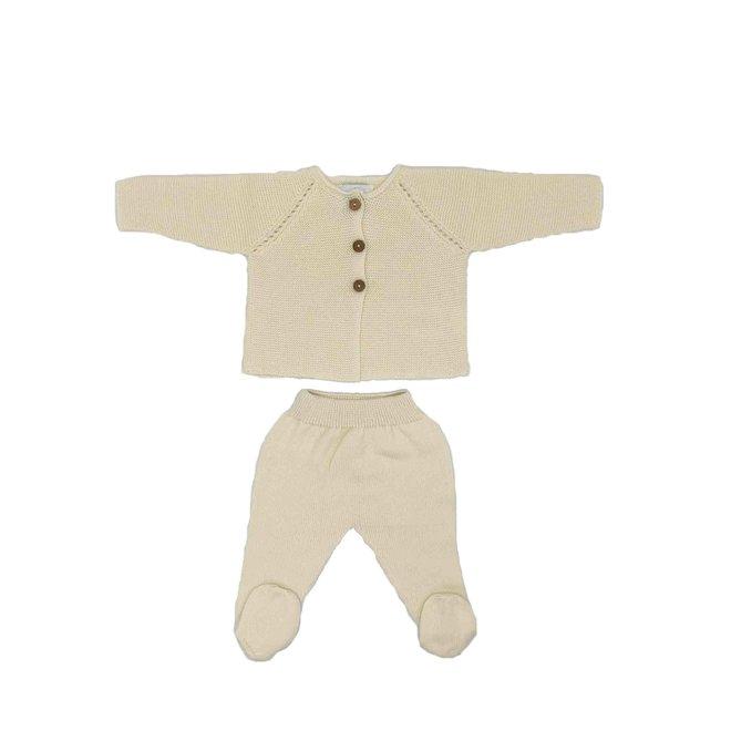 Newbornpakje - Ecru