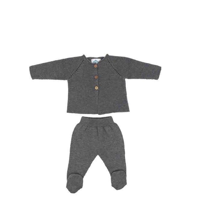 Newbornpakje - Grijs