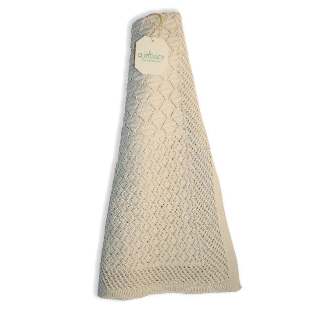 Deken Ecru (Bamboe/Katoen)