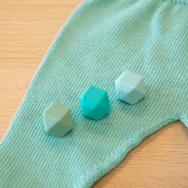 Newbornpakje - Turquoise/Mint