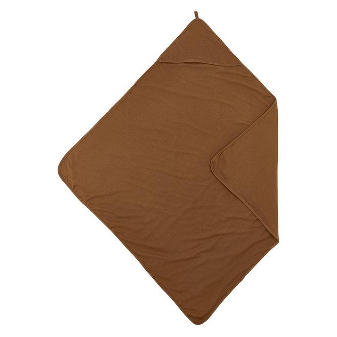 Badcape Basic Jersey 80x80 - Camel