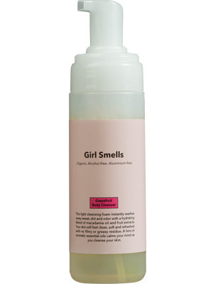 Girl Smells Grapefruit Body Cleanser