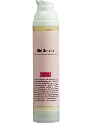 Girl Smells Grapefruit Body Milk