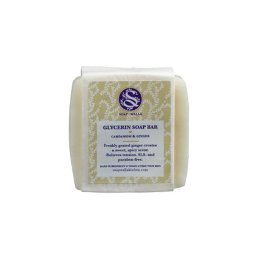 Soapwalla Cardamom Ginger Soap Bar