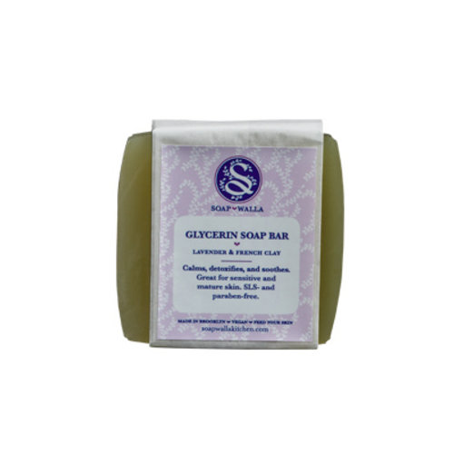 Soapwalla Lavender & French Clay Soap Bar