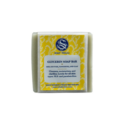 Soapwalla Shea Butter, Tangerine & Clay Soap Bar