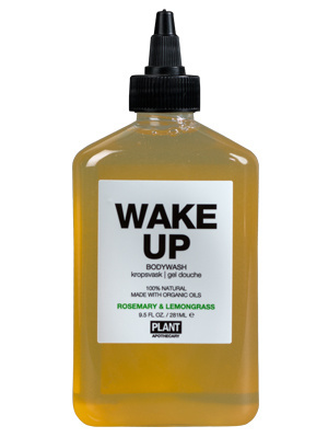 Wake Up Organic Body Wash Plant Apothecary