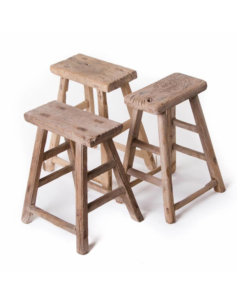 Old Chinese stool - rectangular