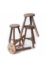 Old Chinese round stool