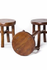 Chinese small round wooden stool