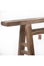 Oude Chinese houten bank