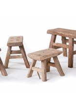 Chinese antique small wooden stools