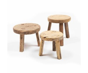 Excellent Small Round Wooden Stool Ibusinesslaw Wood Chair Design Ideas Ibusinesslaworg