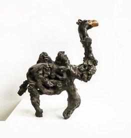 Boomwortel beeld kameel