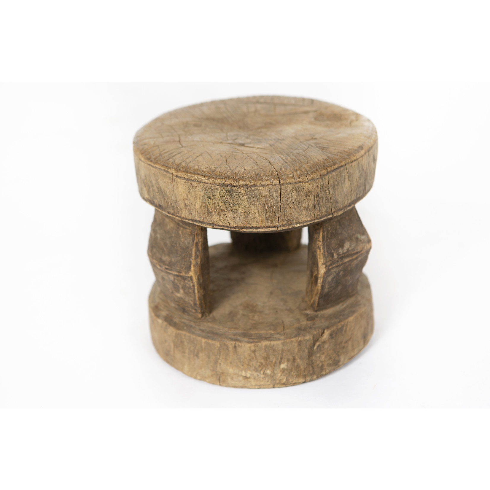 Authentic Dogon Peul stools from Mali - Rare antique African ceremonial stools