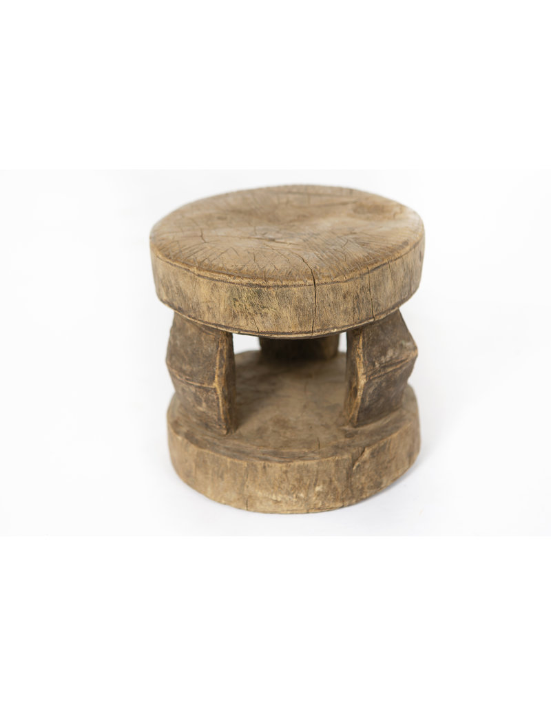 Authentic Dogon Peul stools from Zimbabwe - Rare antique African ceremonial stools