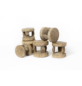 Authentic Dogon Peul stools from Mali
